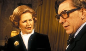 'At the centre of the conflict with the BBC was the formidable Mrs Thatcher' … the prime minister with thepresenter Robin Day.