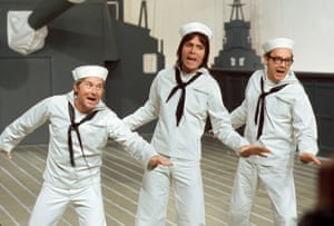 Morecambe and Wise (with Cliff Richard, centre) 1973.