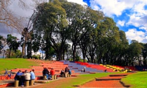 Lezama Park, San Telmo, Buenos Aires.