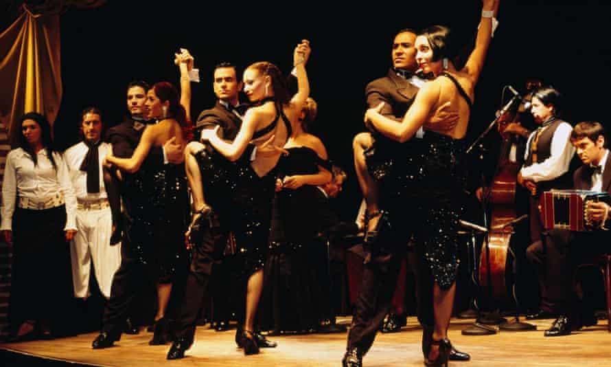 Argentine tango show, at La Ventana, Buenos Aires.