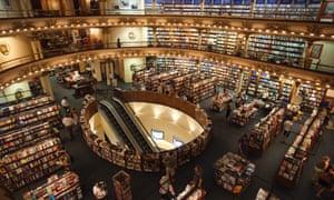 El Ateneo Grand Splendid bookshop in Buenos Aires, Argentina.