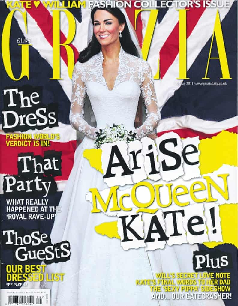 Grazia thinks we should trim down the royal family.