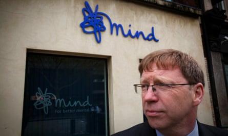 Paul Farmer chief executive Mind benefits cut mental illness