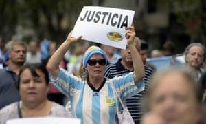 marcha del silencio Nisman