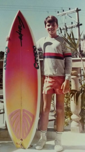 Rodrigo Gularte was a keen surfer as a teenager. He was arrested while smuggling six kilograms of cocaine into Indonesia hidden inside surfboards.