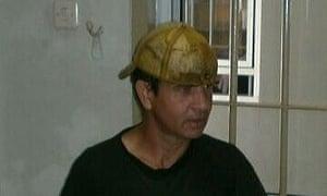 Rodrigo Gularte pictured in prison.