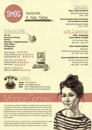 Monica Gomes CV