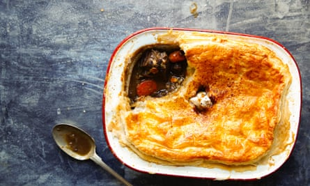 Nose-to-til eating: ox cheek pie
