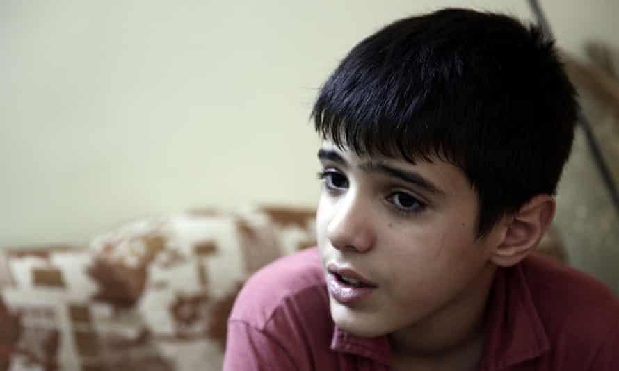 Mohammed in Channel 4's Children on the Frontline.