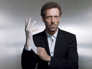 Dr Gregory House House starring Hugh Laurie