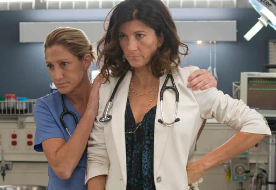 Edie Falco as Jackie Peyton and Eve Best as Dr. O'Hara