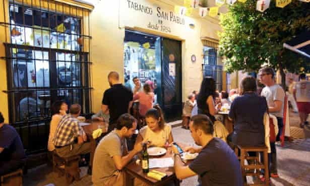 The Tabanco San Pablo, Jerez – great for traditional dishes.