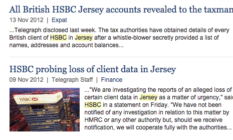 HSBC and the Daily Telegraph: allegations that require answers