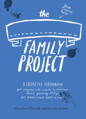 Family project book cover