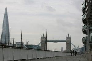 Thames Path walk.