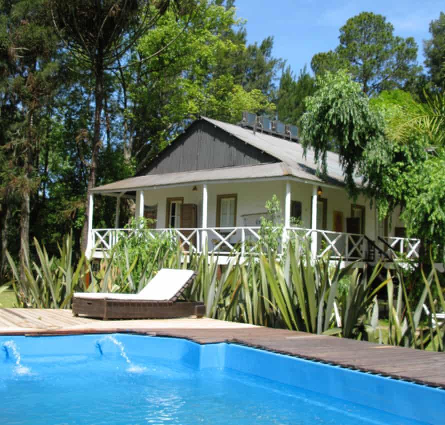 The pool at Isla Escondida.