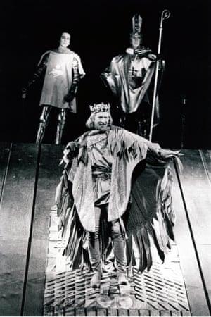 Alan Howard in Richard II at RSC Stratford.