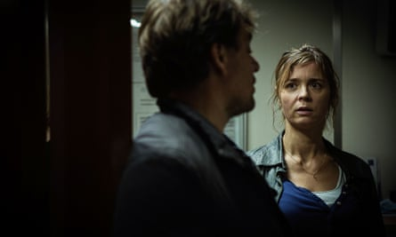 Laure Berthaud (Caroline Proust) in Spiral. Laure and her team are 'une bande de branleurs', according to their boss.