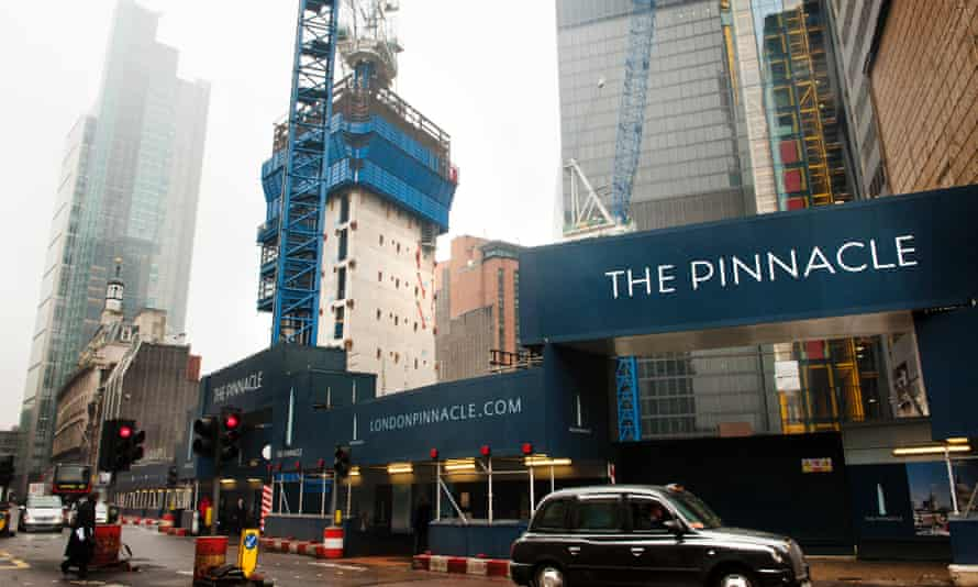The Pinnacle, aka the Helter Skelter, quickly became known as the Stump when building stalled in 2012