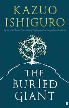 The cover of Kazuo Ishiguro's The Buried Giant.