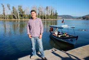 Alejandro Hormazabal, who lost his house in La Poza.