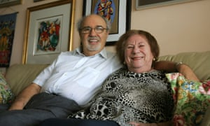 Herman and Roma Rosenblat in their Florida home in 2008