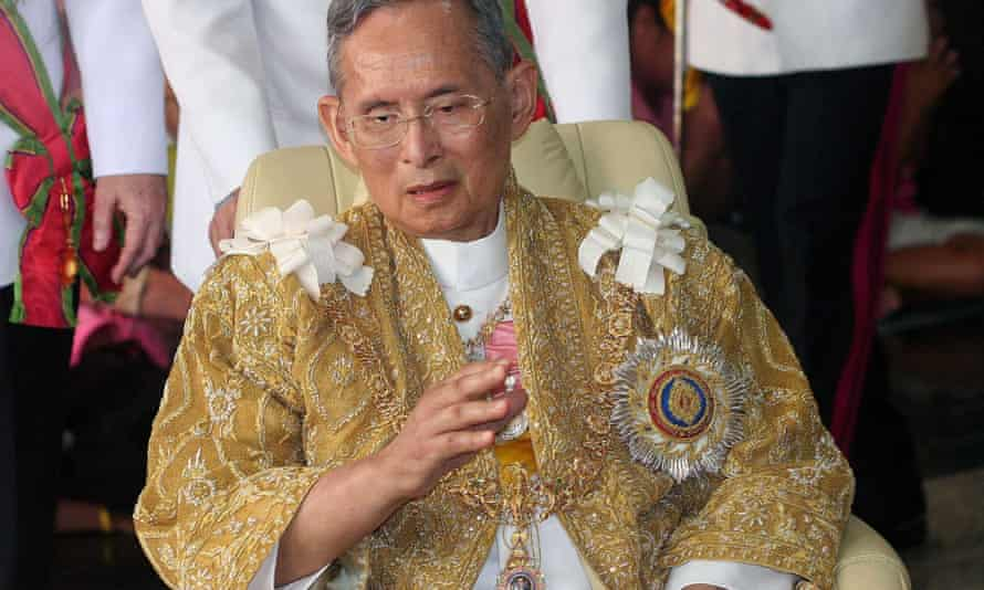 Thailand's revered king, Bhumibol Adulyadej.
