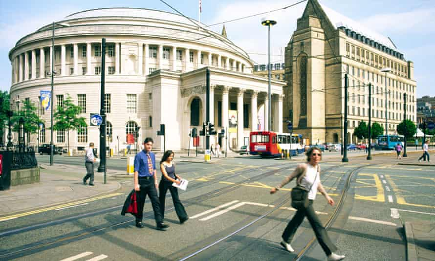 Manchester Central Library recently underwent a £170m refurbishment, during which the material was purged.