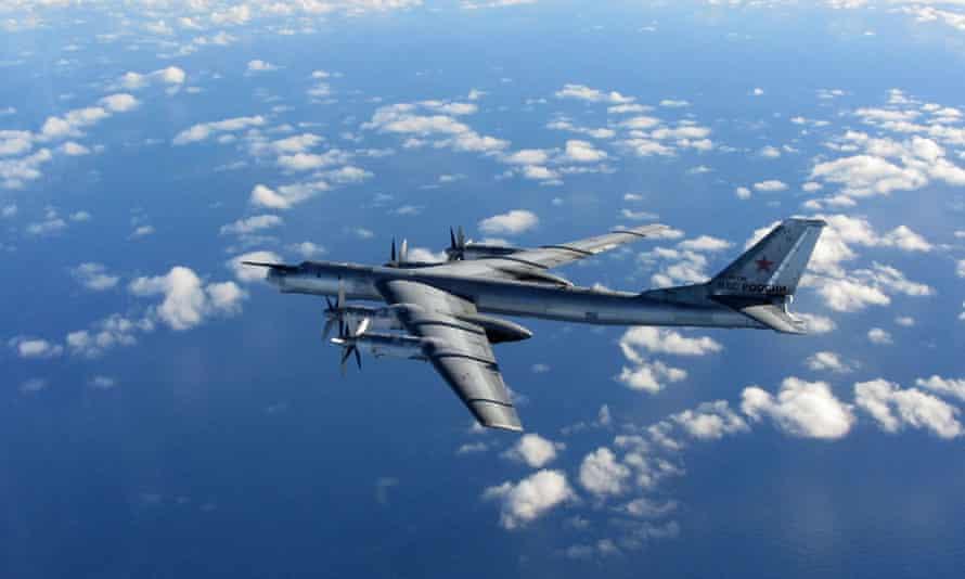 Russian Bear aircraft