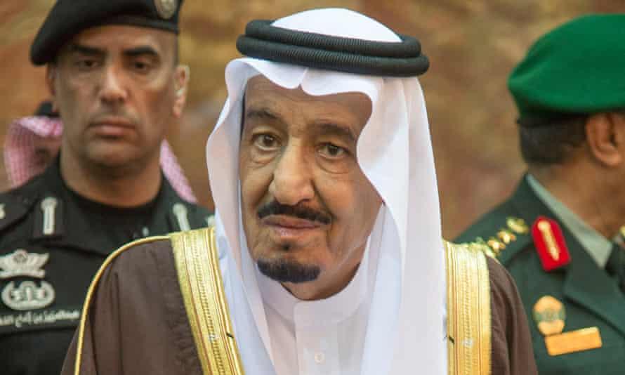 King Salman bin Abdulaziz Al Saud.