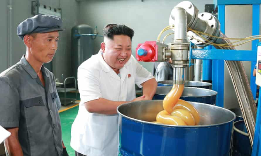 Kim Jong-un factory