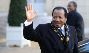 Paul Biya, the president of Cameroon.