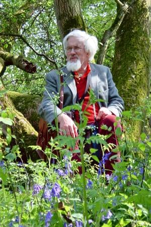 Oliver Rackham in Buff Wood