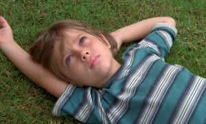 Ellar Coltrane, aged six, in Boyhood.
