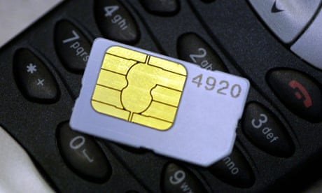 Rights groups criticise US and UK spies for 'disturbing' sim cards
