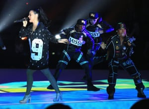 Missy Elliott and Katy Perry play the Super Bowl.