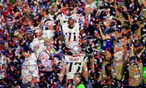 New England celebrate