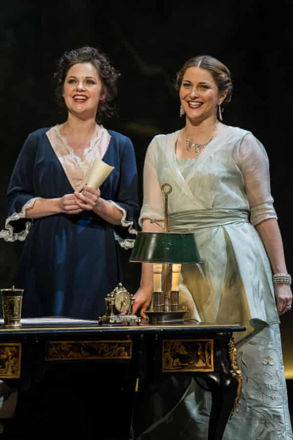 Silvia Moi as Susanna and Ana Maria Labin as the Countess in Opera North's new production.