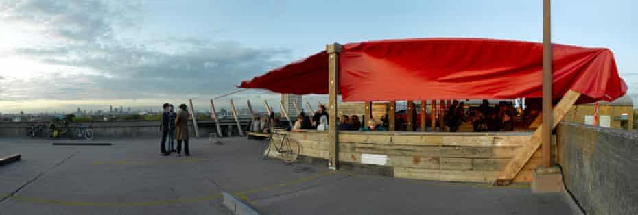 Frank's Cafe and Campari Bar, Peckham.