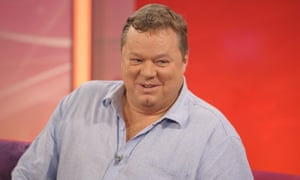 Ted Robbins was said to be sitting up and talking to family after his on-stage collapse in the Phoenix Nights live show.