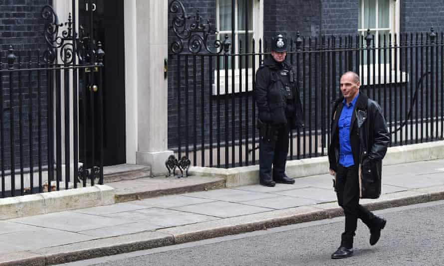 New Greek Finance Minister Yanis Varoufakis
