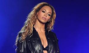 Beyoncé: not exactly a model of veganism