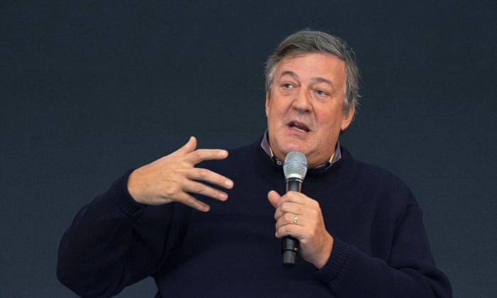 I don't believe in the God that Stephen Fry doesn't believe in