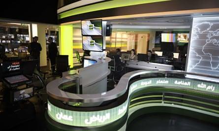 The Alarab editorial office in Manam