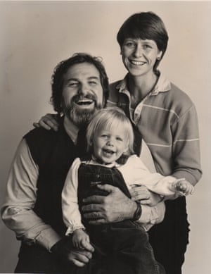 A young Lindy West with her parents.