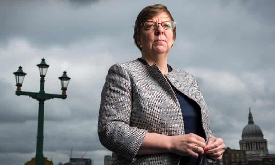 The director of public prosecutions, Alison Saunders.