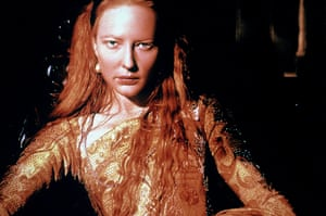 Cate Blanchett This 1998 feature film is loosely based on the early years of Elizabeth's reign