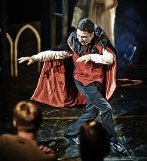 As Mr Swallow in Dracula!