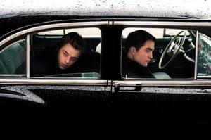 Dane Dehaan as James Dean and Robert Pattinson as Dennis Stock in  LIFE