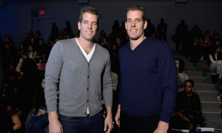 Tyler and Cameron Winklevoss: bitcoin bros